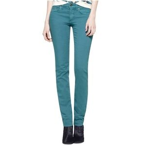 Tory Burch Super Skinny Ivy Blue Jeans